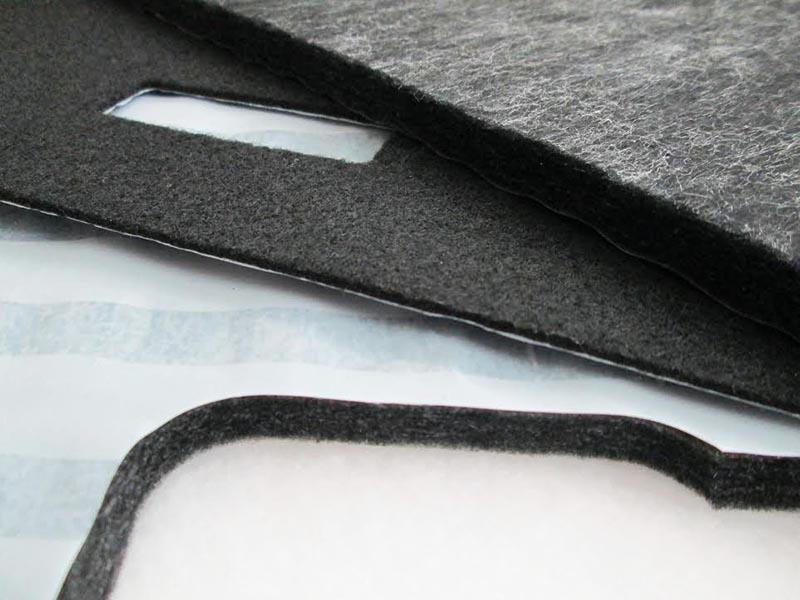 Nonwoven textiles cutting